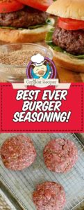 Make the best burger seasoning ever!