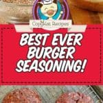 Make the best burger seasoning ever!