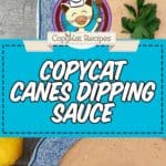 canes dipping sauce
