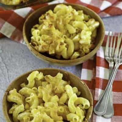 baked macaroni and cheese that tastes like chick fil a