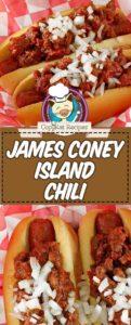 JCL Grill Chili on hotdogs