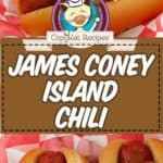 JCL Grill Chili on hotdogs