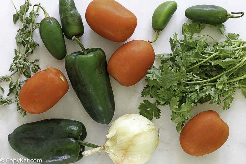 pappasitos salsa ingredients