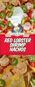 copycat red lobster shrimp nachos on a plate