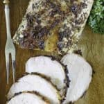 oven roasted pork loin