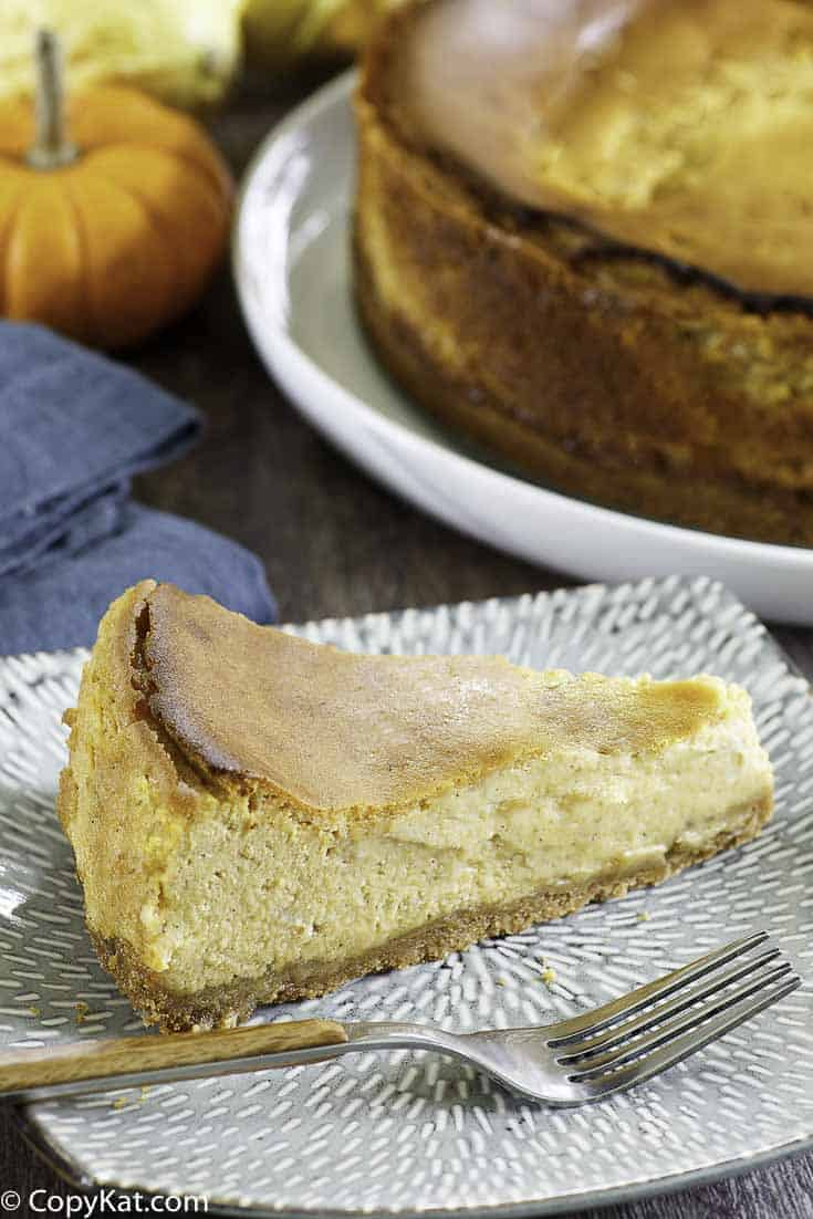 pumpkin cheesecake like the california pizza kitchen