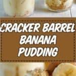 banana pudding photo collage