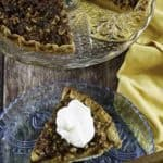 struesel topped pumpkin pie with whipped cream on top1