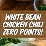 weight watchers white bean chicken chili