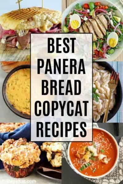 Panera Bread Recipes photo collage
