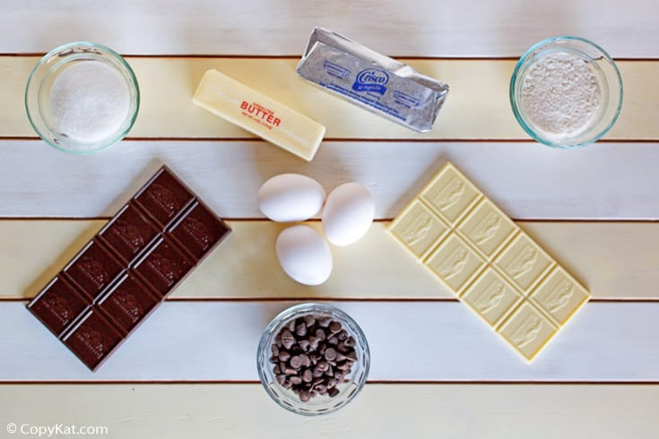 triple chocolate meltdown ingredients
