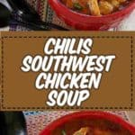 Chilis Southwest Chicken Soup photo collage