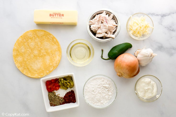 King Ranch Casserole Ingredients