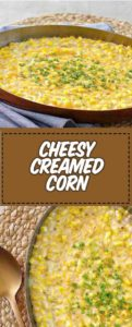 homemade southern creamed corn in a pan