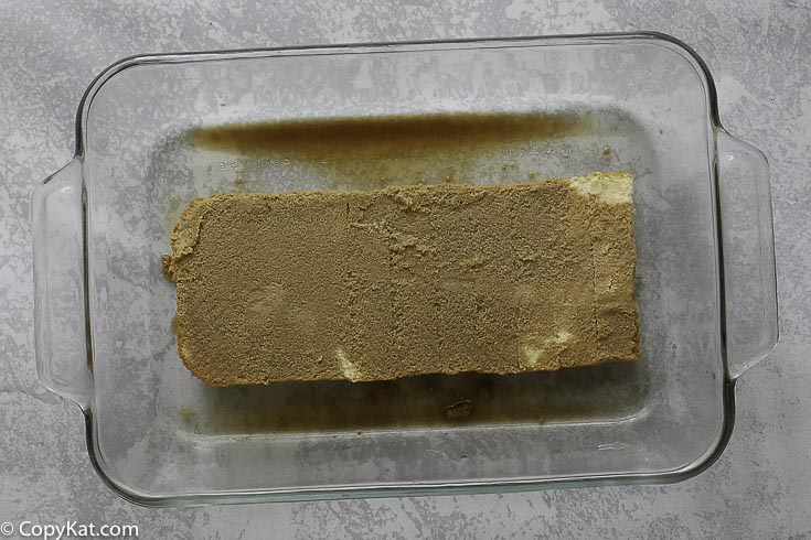 sponge cake with espresso