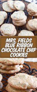 plate of freshly baked chocolate chip cookies