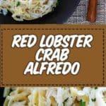 Crab Linguine Alfredo Pasta