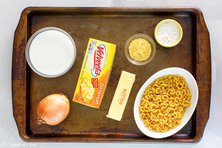 Boston Market macaroni and cheese ingredients