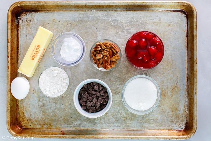 cherry chocolate cobbler ingredients