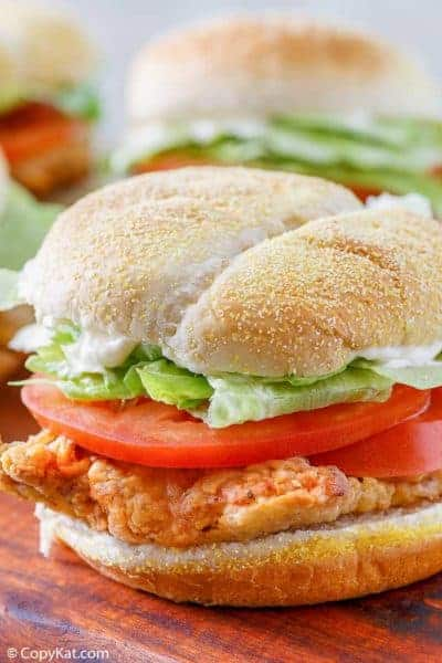 chicken fried steak sandwich