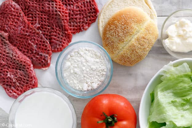 Dairy Queen Dude chicken fried steak sandwich ingredients