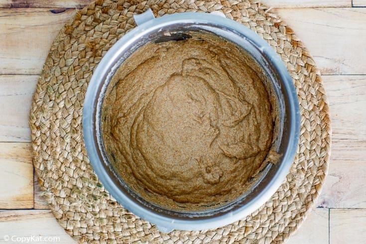 fluffy whole grain wheat bread dough