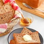 slices of fluffy whole grain wheat bread