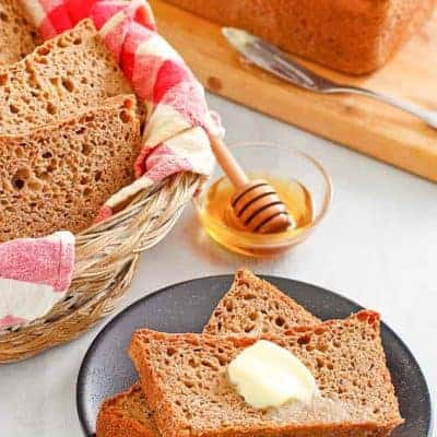 slices of fluffy whole grain wheat bread