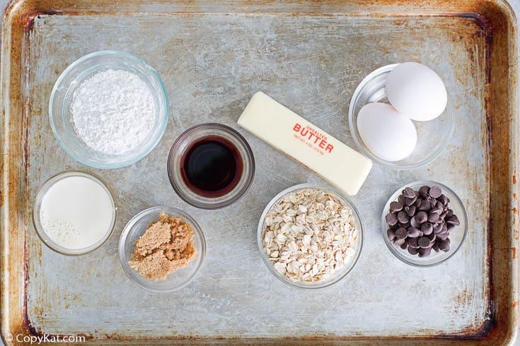 fudge jumbles cookie bars ingredients