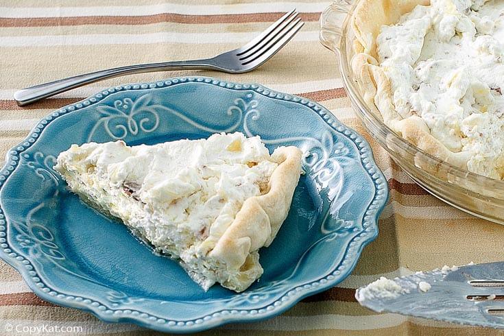a slice of pineapple millionaire pie