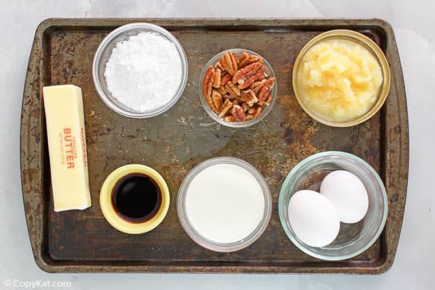 pineapple millionaire pie ingredients