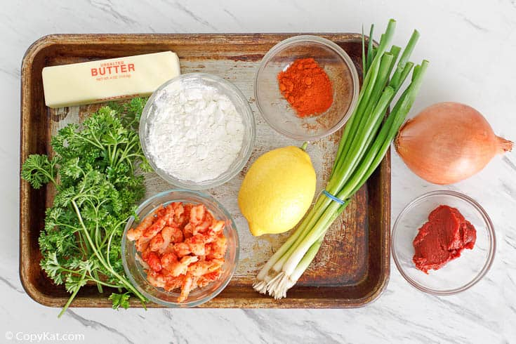 crawfish etouffee ingredients