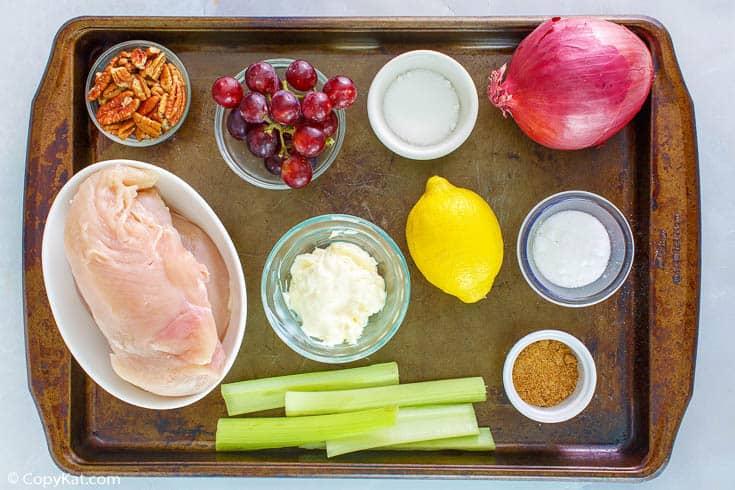 Newks ingredientes para ensalada de pollo