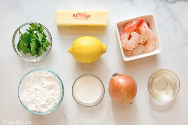 Olive Garden classic shrimp scampi fritta ingredients