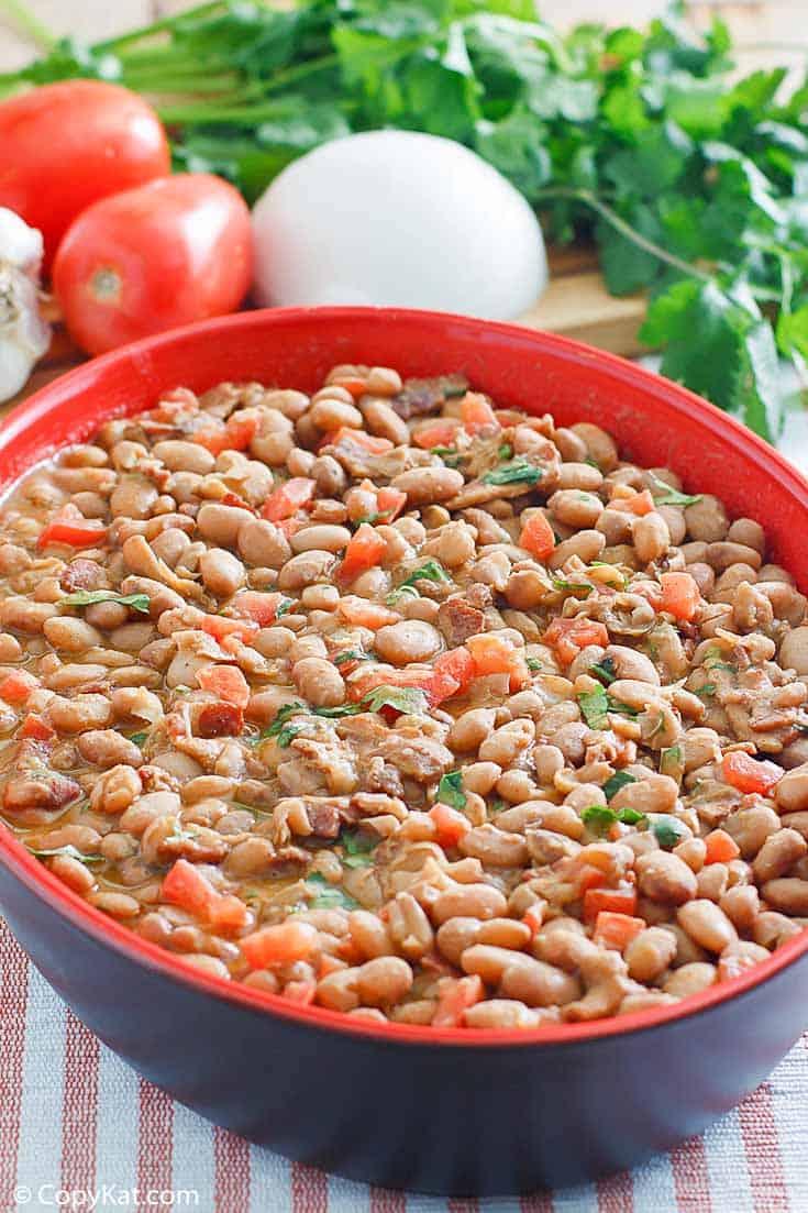 homemade Pappasitos Frijoles a la Charra (charro beans)