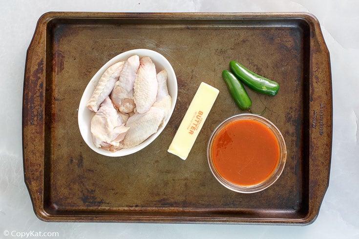 Pluckers hot wings ingredients
