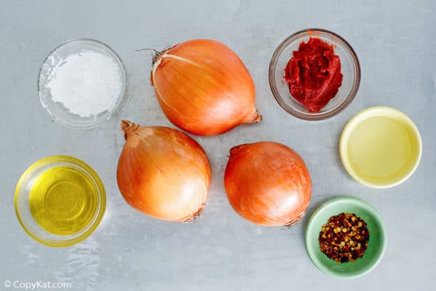 Sabrett Onion Sauce Ingredients