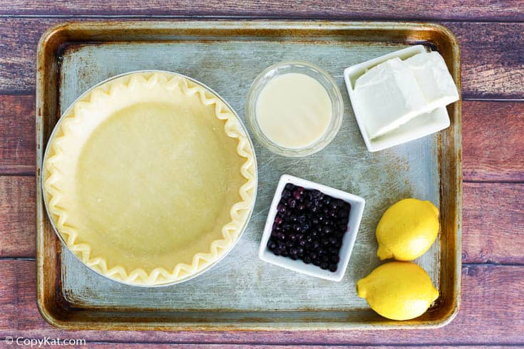 blueberry cream cheese pie ingredients