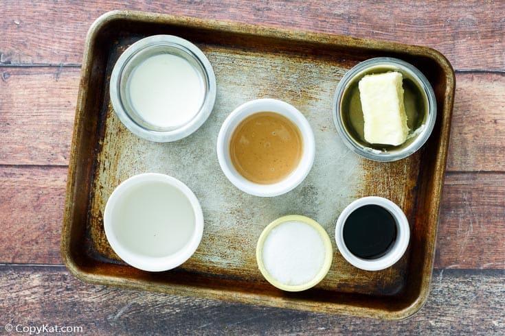 Friendly's peanut butter sauce ingredients