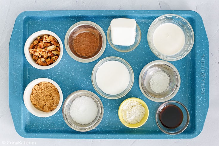 chocolate pudding cake ingredients