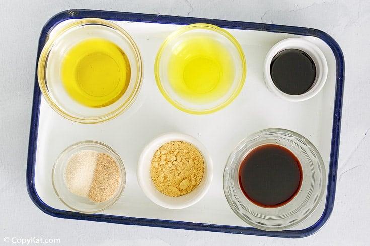 Luigetta's Italian salad dressing ingredients
