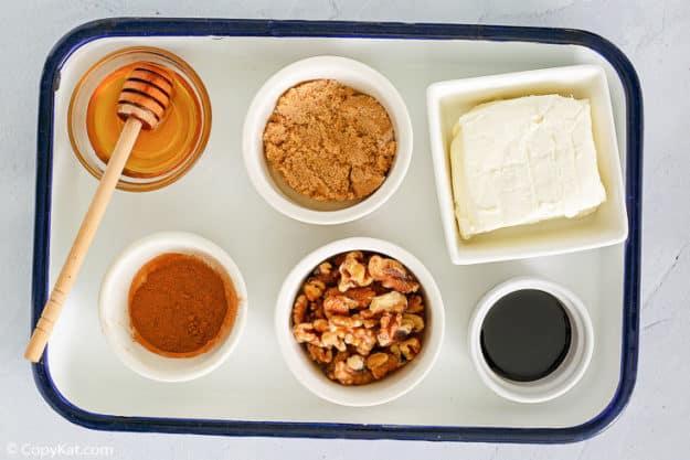 Panera honey walnut cream cheese ingredients