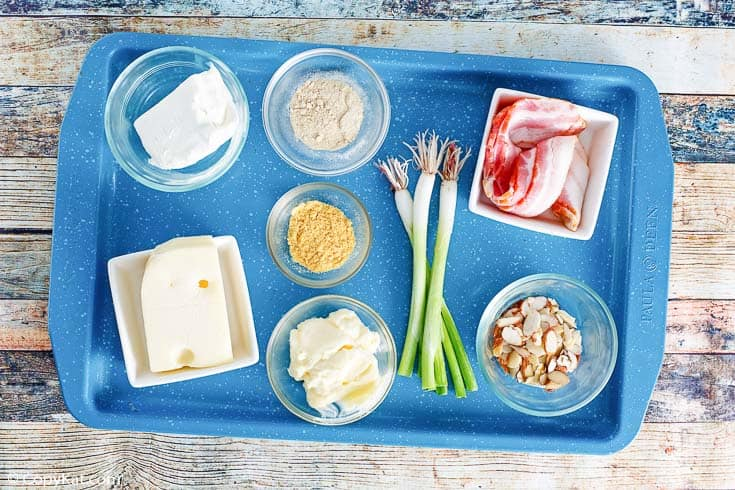 Bacon Swiss Dip ingredients