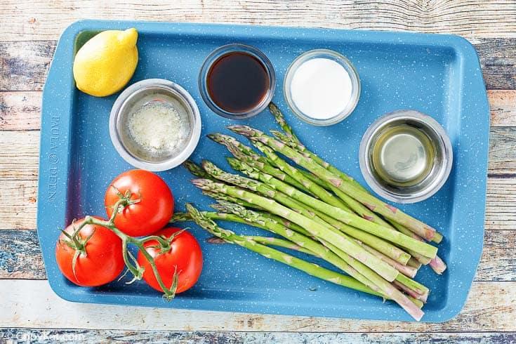 Olive Garden Parmesan Roasted Asparagus Ingredients