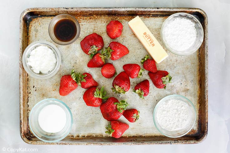 Big Boy strawberry pie ingredients