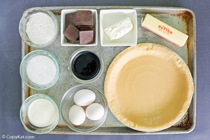 chocolate cream pie ingredients