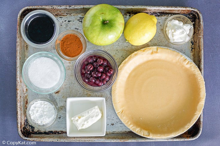 Marie Callenders Sour Cream Blueberry Pie Ingredients