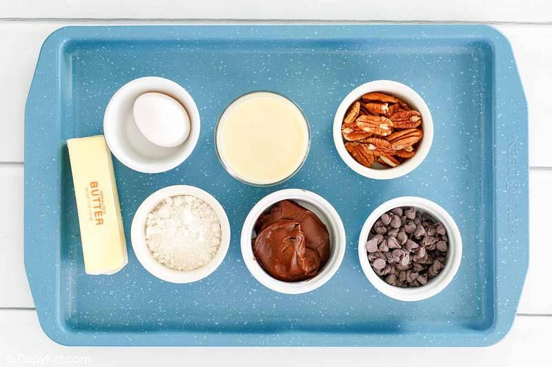 Bisquick brownies ingredients