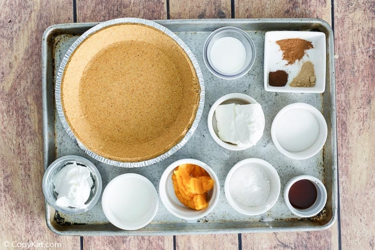 double layer pumpkin pie ingredients