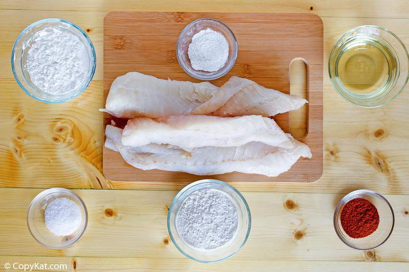 Captain D's batter dipped fish ingredients
